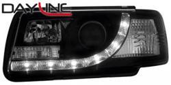 Передние светодиодные фары Ауди 80 Универсал (Audi 80 Avant) 91-94, черный