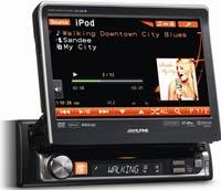 Alpine IVA-D511R - DVD/CD/MP3/WMA/AAC/Divx - магнитола (ресивер) с монитором