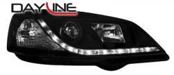 Передние светодиодные фары Опель Астра G (Opel Astra G), черный