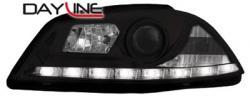 Передние светодиодные фары Сеат Кордоба (Seat Cordoba), 03-08 черный