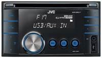 JVC KW-XR417EE 2DIN - USB/CD- магнитола (ресивер)