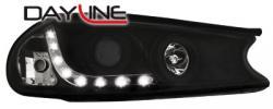 Передние светодиодные фары Форд Мондео (Ford Mondeo) 96-00, черный
